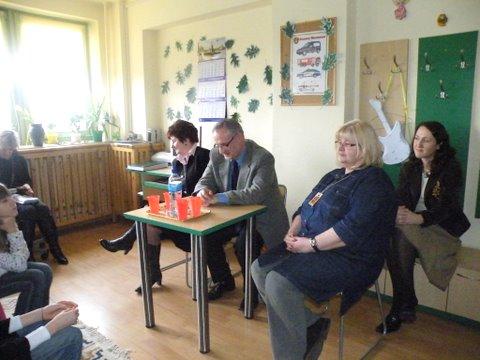 Fotografie z artykułu: Spotkanie z politykiem...